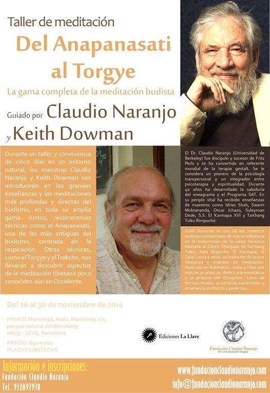 Claudio Naranjo - Dzogchen Keith Dowman-haiki