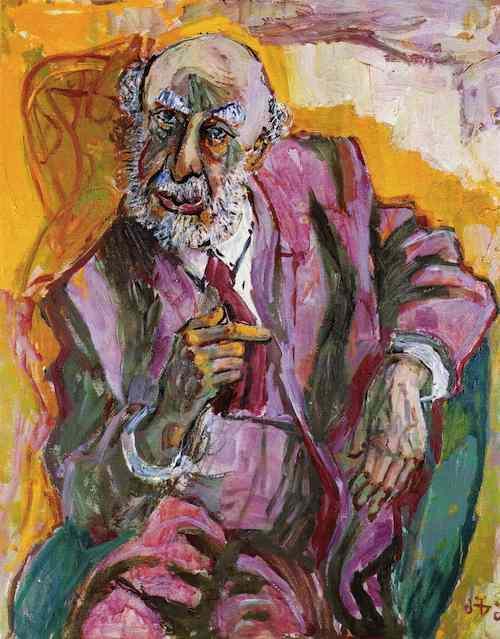 Dr. Fritz Perls retrato de Otto Dix